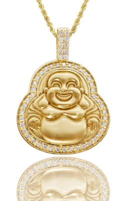 LAUGHING BUDDHA PIECE (ICED BORDER) product image