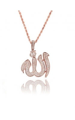 DIAMOND ALLAH PENDANT product image
