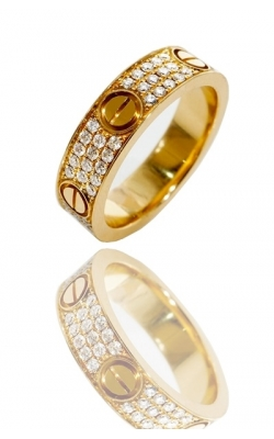 CARTIER ETERNITY RING ( FULLY ICED ) product image