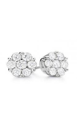 DIAMOND CLUSTER EARRINGS product image