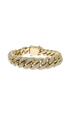 DIAMOND CUBAN LINK BRACELET (14.00MM) product image