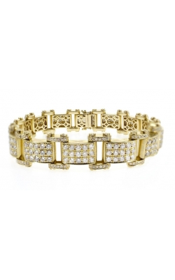 DIAMOND LINK BRACELET (14MM) product image