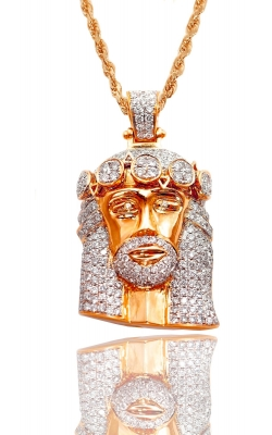 ICED DIAMOND JESUS HEAD product image