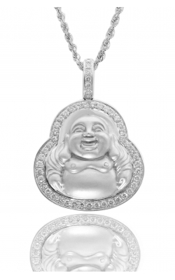 MICRO LAUGHING BUDDHA PIECE  product image
