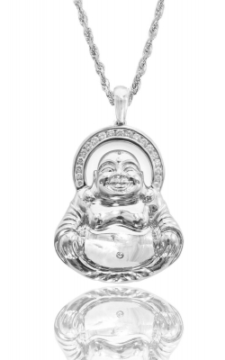 ICED LAUGHING BUDDHA PIECE product image