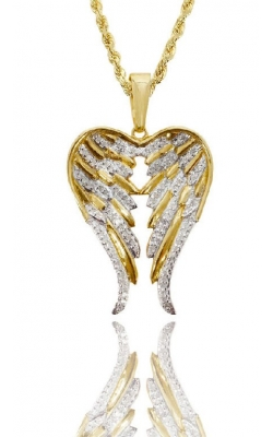 ICED OUT ANGEL WINGS product image