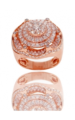FLOWER DIAMOND RING ( ICED ) product image