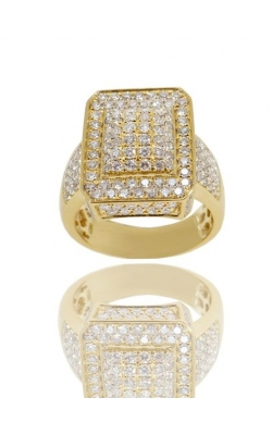 PAVE MEN'S DIAMOND RING  product image
