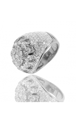 MEN'S ROUND DIAMOND FASHION RING, 14K  product image