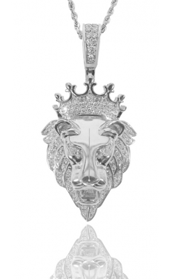ICED OUT LION PIECE WITH ( CROWN ) product image