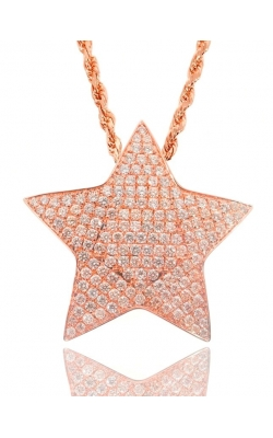 CUSTOM STAR PENDANT (FULLY ICED) product image