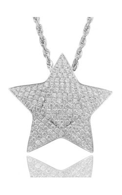 CUSTOM STAR PENDANT (FULLY ICED) product image