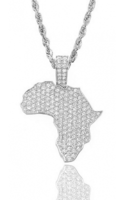 AFRICA PENDANT (ICED OUT) product image