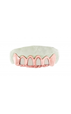 OPEN FACE GOLD GRILL WITH(DIAMOND DUST) product image