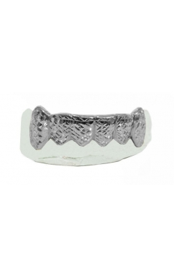 GOLD GRILL WITH (DIAMOND CUTS) product image