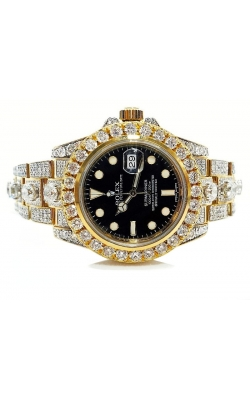 PRE OWNED SUBMARINER (FULLY ICED ROLEX) product image