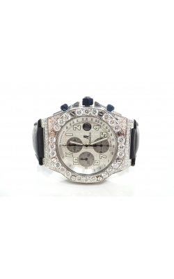 PREOWNED AUDEMARS PIGUET WHITE GOLD ROYAL OAK 42MM (ICED OUT) product image