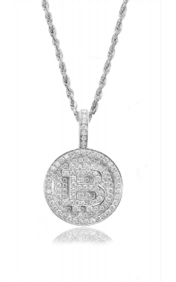 MICRO BITCOIN PIECE (FULLY ICED) product image