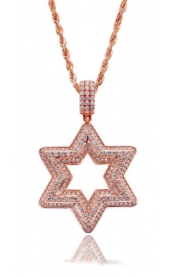 STAR OF DAVID PIECE(FULLY ICED) product image