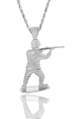 MICRO 3D SOLDIER (PARTIALLY ICED)  product image