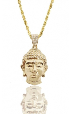 CUSTOM BUDDHA PIECE (PARTIALLY ICED) product image