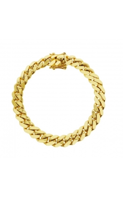 GOLD CUBAN LINK BRACELET (11MM) product image