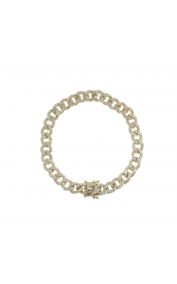 DIAMOND CUBAN LINK BRACELET (6.60MM) product image