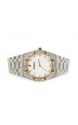 PREOWNED AUDEMARS PIGUET TWO TONE 36MM  (FYLLY ICED OUT) product image