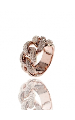 DIAMOND CUBAN RING product image