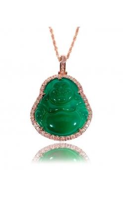 CUSTOM LAUGHING BUDDHA PENDANT product image