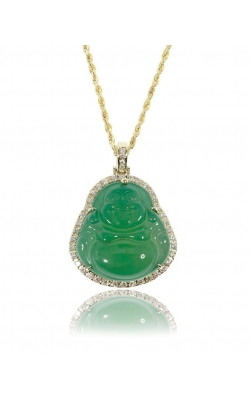 CUSTOM LAUGHING BUDDHA PENDANT product image