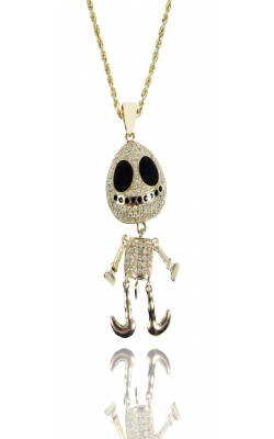 DIAMOND ALIEN PENDANT product image