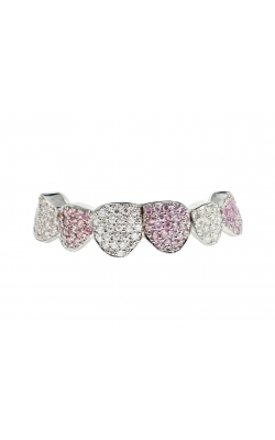 PINK SAPPHIRE AND WHITE DIAMOND GRILL product image