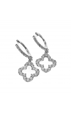 DIAMOND HOOP EARRING product image