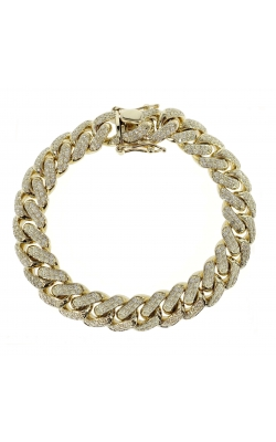 DIAMOND CUBAN LINK BRACELET(13.22MM) product image