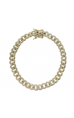 DIAMOND CUBAN LINK BRACELET (8.00MM) product image