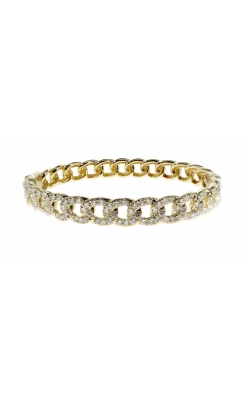 CUBAN DIAMOND BANGLE product image