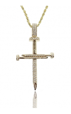 DIAMOND NAIL CROSS PENDANT product image
