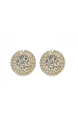 ROUND DIAMOND EARRING product image