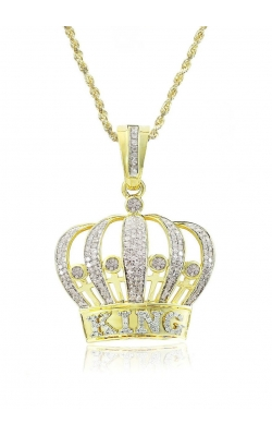 DIAMOND KING CROWN PENDANT product image