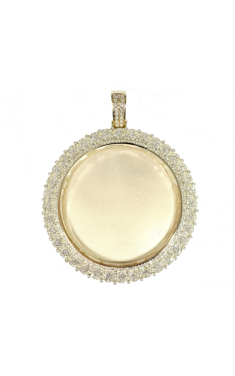 Highline custom pendants 115081 diamond memory pendant aloadofball Images