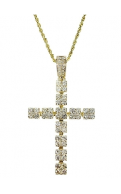 DIAMOND CROSS WITH (ROPE CHAIN) product image