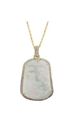 DIAMOND JADE PENDANT product image