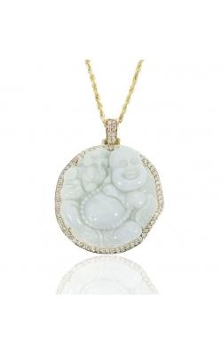DIAMOND JADE BUDDHA PENDANT product image