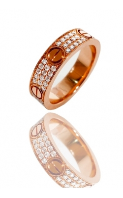 CUSTOM ETERNITY RING ( FULLY ICED ) product image