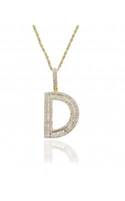 DIAMOND BAGUETTES INITIAL D product image
