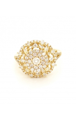 DIAMOND FLOWER RING product image