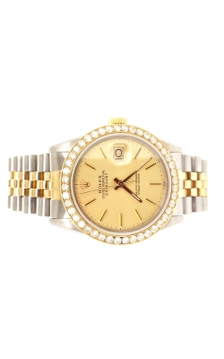 CUSTOM ROLEX DATEJUST 36MM 2.00CTW product image