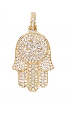 Diamond Hamsa pendant product image